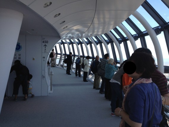 東京スカイツリーの展望回廊