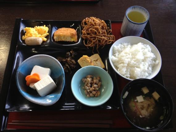 富士見苑の朝食