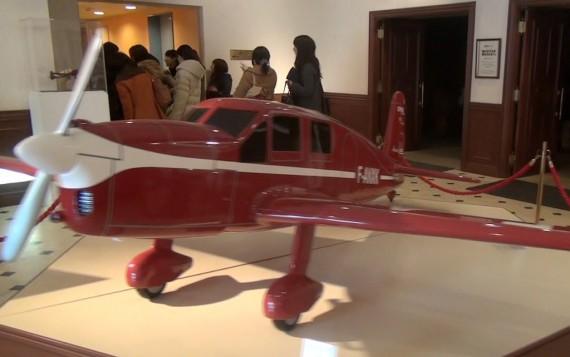 筆者が所有していた飛行機の模型