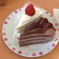 今回食べたケーキ