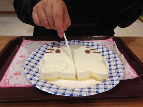 キティダイカットミルクケーキ