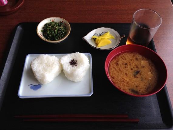 ホテルフジヨシの3日目の朝食