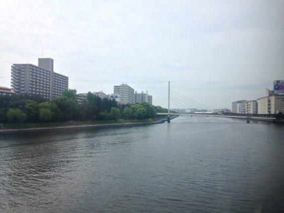 東京モノレールからの風景