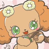 バイオリンを奏でるプレーズ