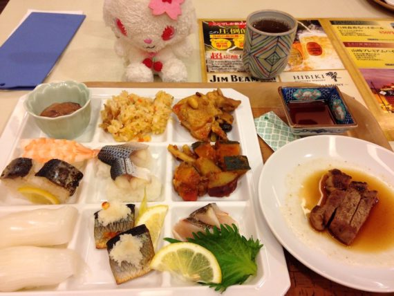 花菱ホテルの夕食 その1
