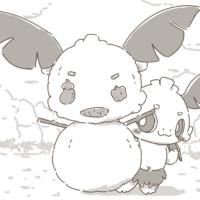 雪だるまを作るデココ
