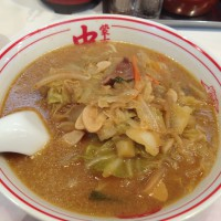 大宮店の味噌タンメン