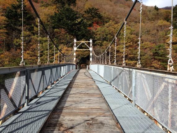 下がスケスケの浜子橋