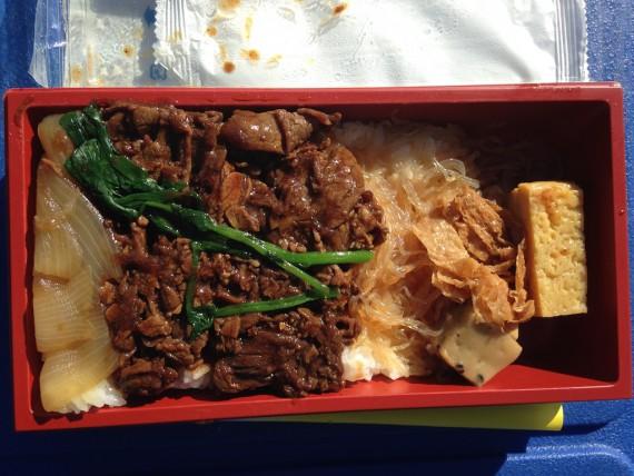 2013東武ファンフェスタのお弁当の中身