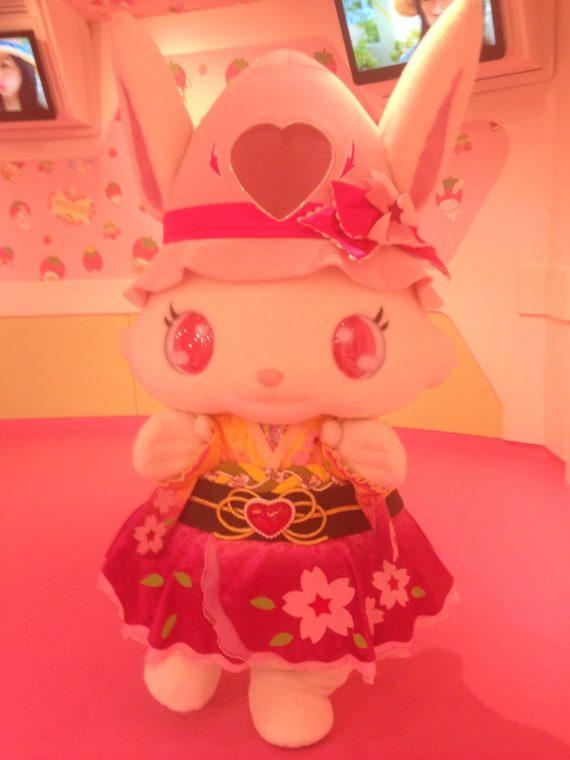 全体がピンク色なルビーちゃん