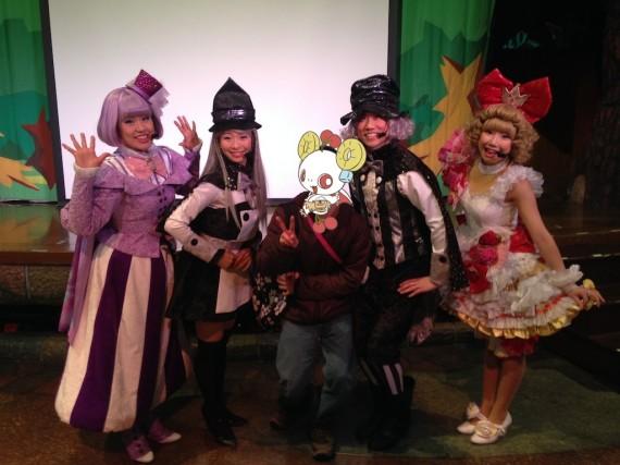 ジュエルペットのどきどき!マジカル☆マーチのキャストさんたちと記念撮影