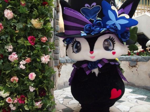 お花とルーアちゃん