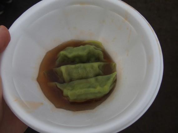 麺々市場の水餃子