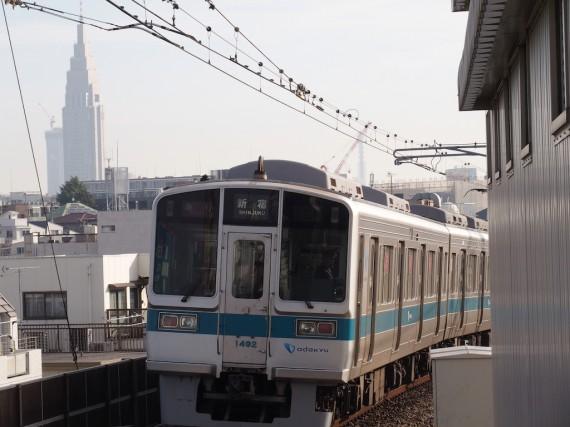 小田急線の1000形1092編成