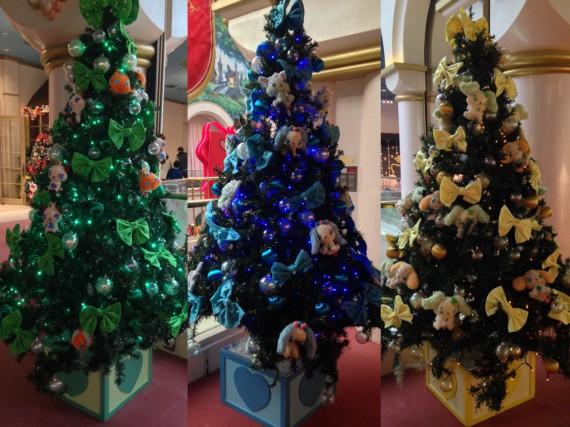 ジュエルペットのクリスマスツリー達