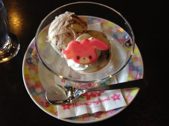 ぼんぼんりぼんちゃんのチョコチップ入りデザート