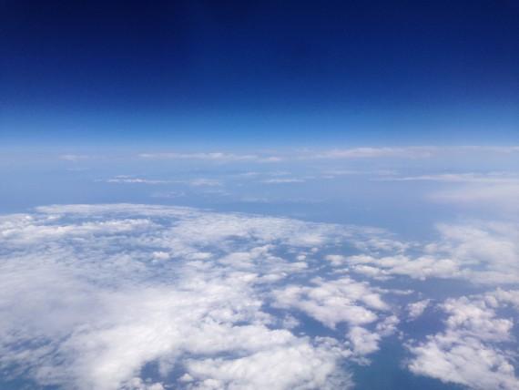 大分空港に向かっている途中の空
