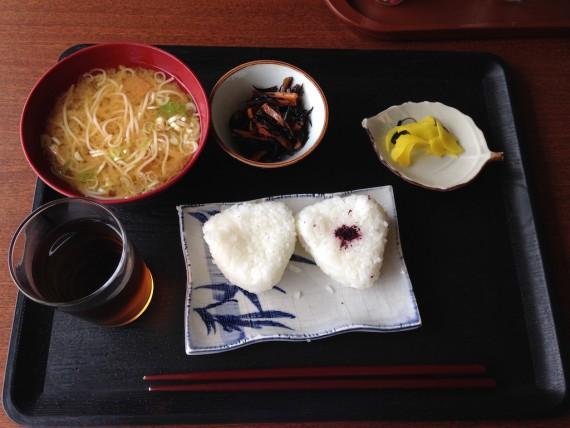 ホテルフジヨシの朝食