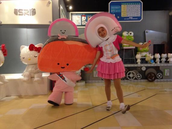 KIRIMIちゃんとお姉さんのツーショット