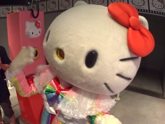 キティちゃんは別府温泉マスターか