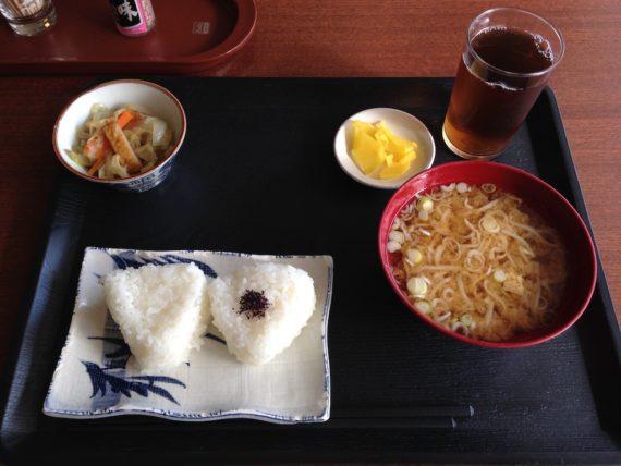 3日目のホテルフジヨシの朝食
