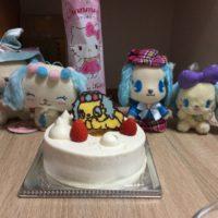 サフィーちゃんたちとケーキ