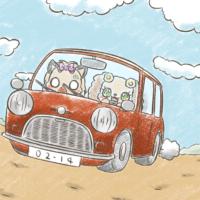 車を運転するプレーズ