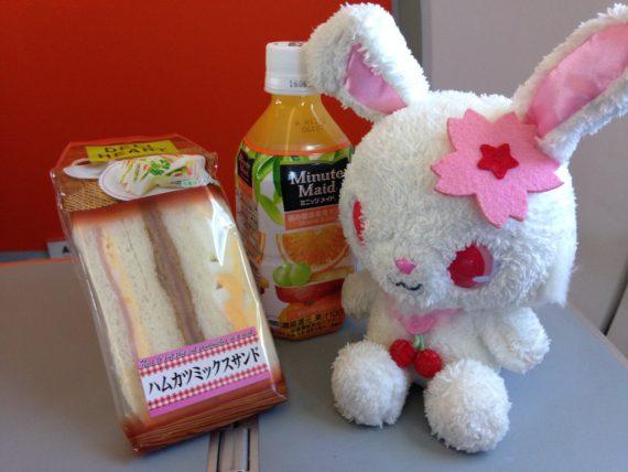 サンドイッチ達とルビーちゃん