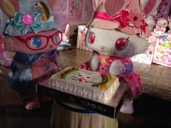 バースデーケーキとルビーちゃん達