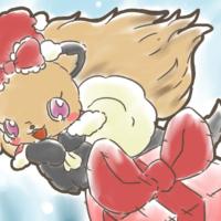 トパーズがプレゼントをシュート!