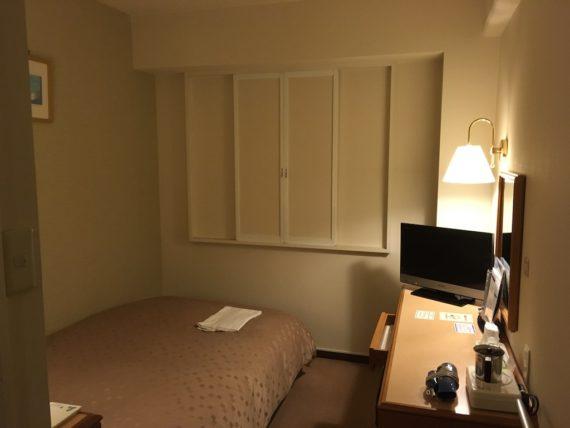 パシフィックホテル白石のシングルルーム