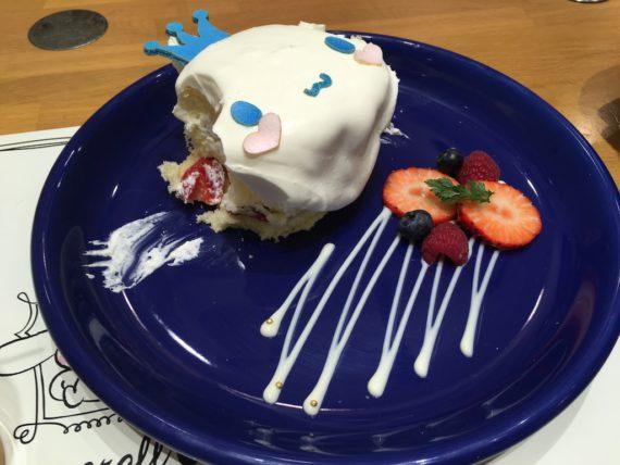 シナモンのスペシャルショートケーキ