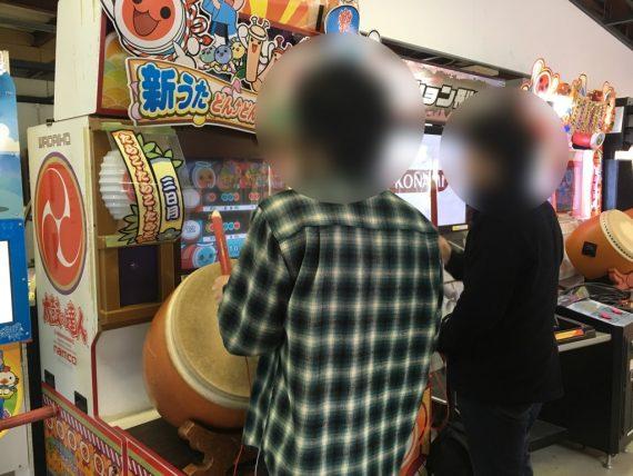「ゲームセンターカーニバル」というゲームコーナー
