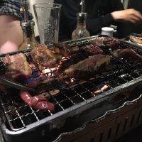 29SHOCKでひたすら肉を焼いていく