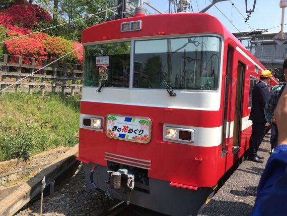 佐野駅についた東武1800系