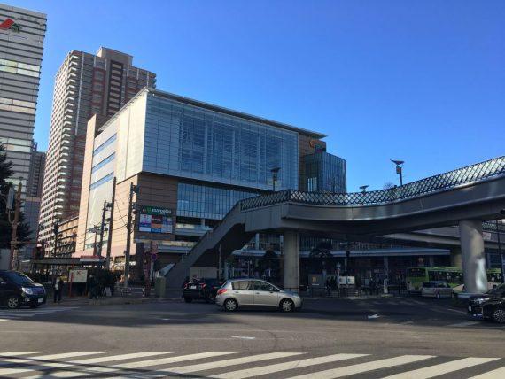朝の川口駅前のフレンディア