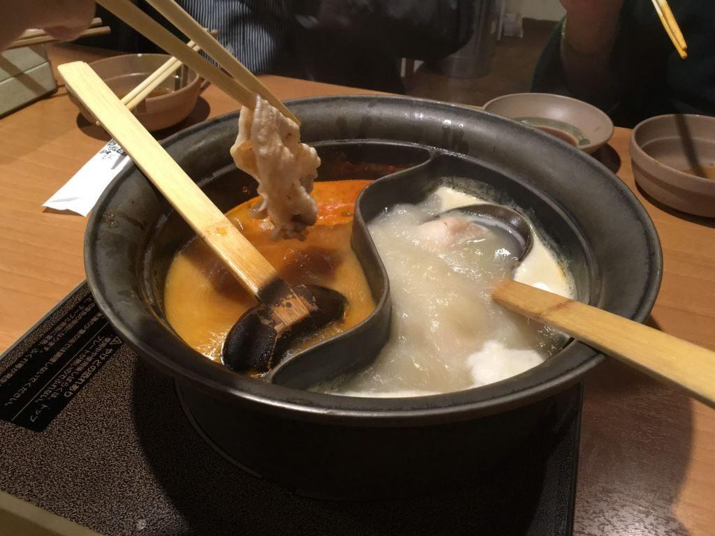 しゃぶ葉での鍋