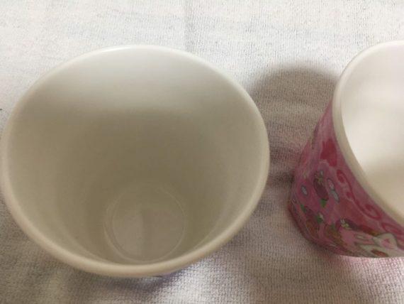レディカフェで手に入るカップ(底)