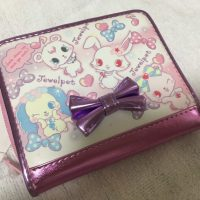 ジュエルペットのローサ柄のお財布(表面)