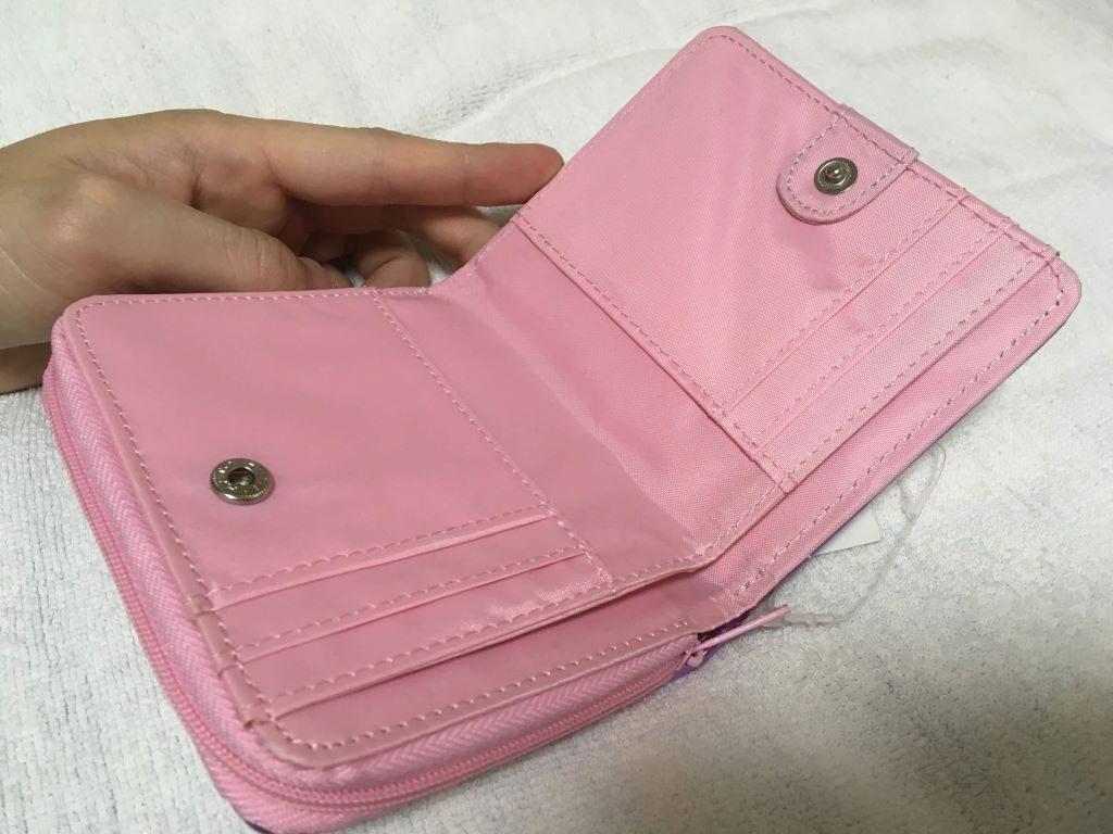 ジュエルペットのローサ柄のお財布(お札やカード入れ部分)