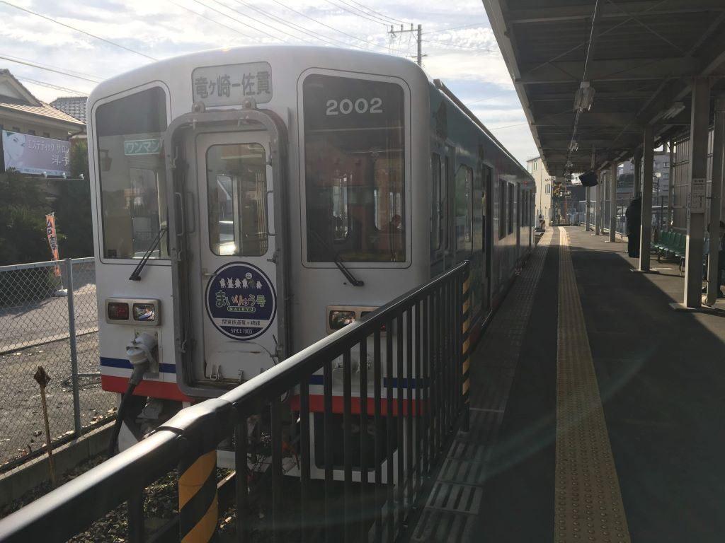 関東鉄道竜ケ崎線の列車