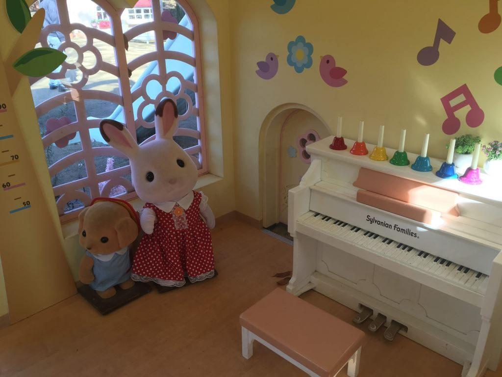 森のたのしいようちえんにあるピアノ