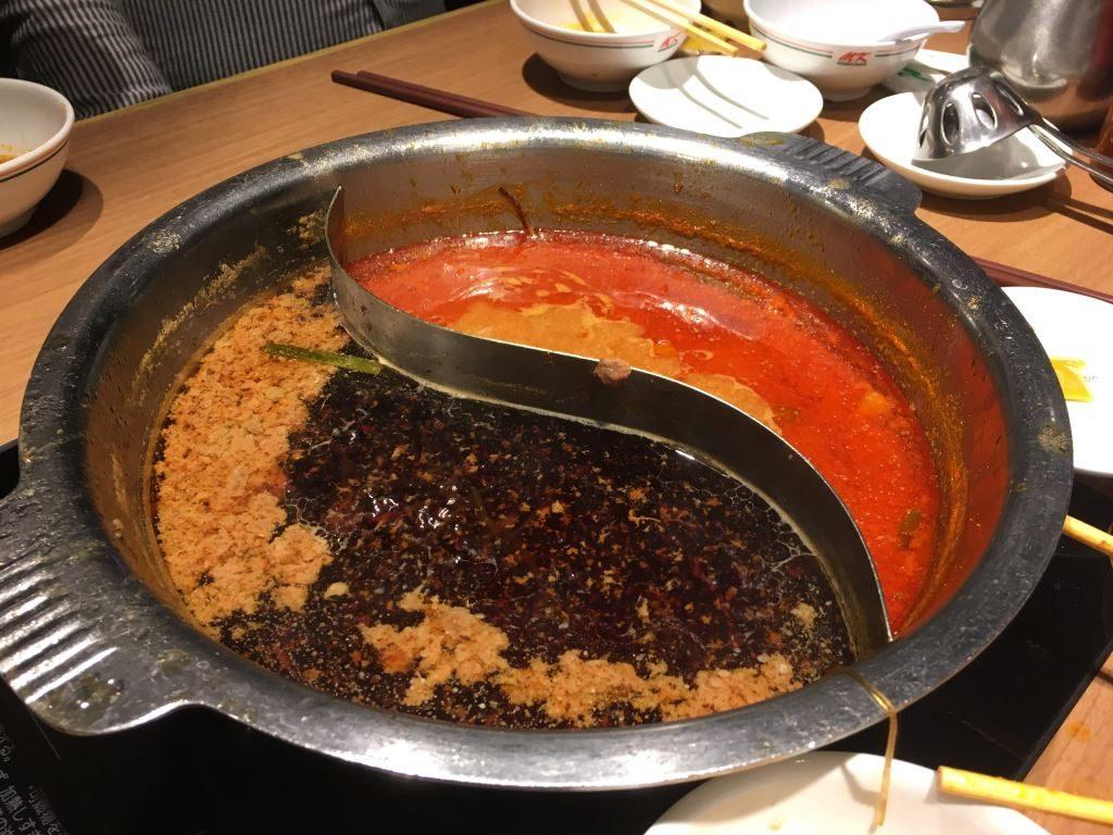 沢山のお肉でどろどろになったスープ