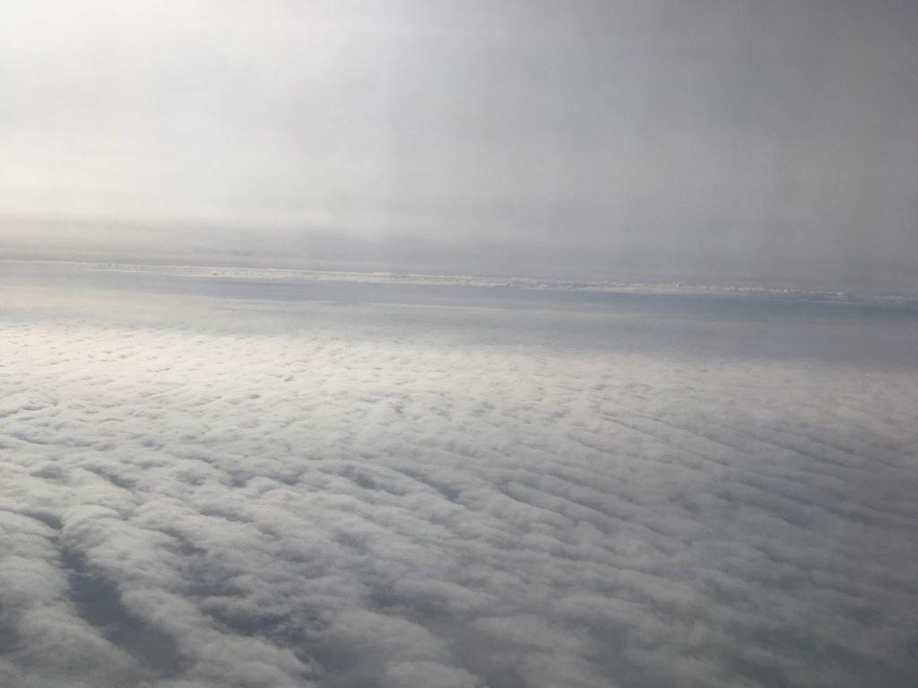 九州は雲がどっさり