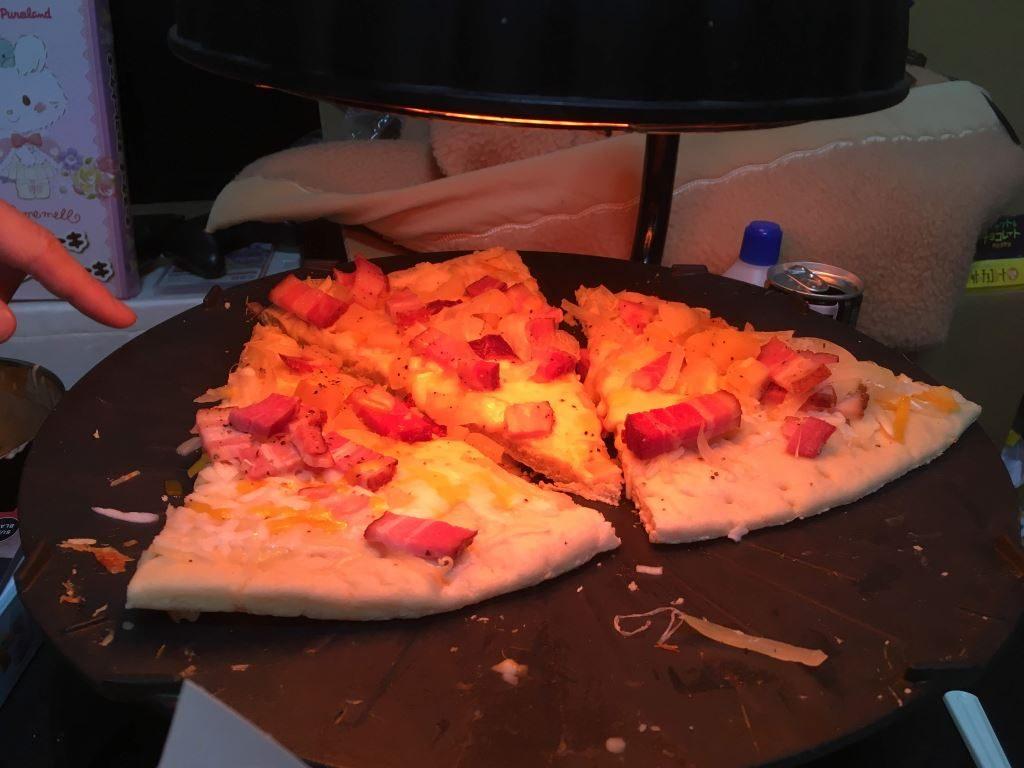 ピザを焼くためだけの謎の機械