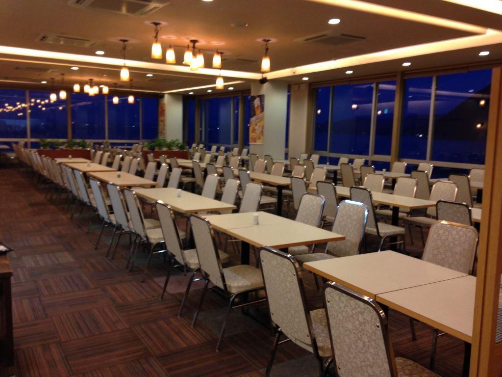花菱ホテルの食事のお部屋(その1)