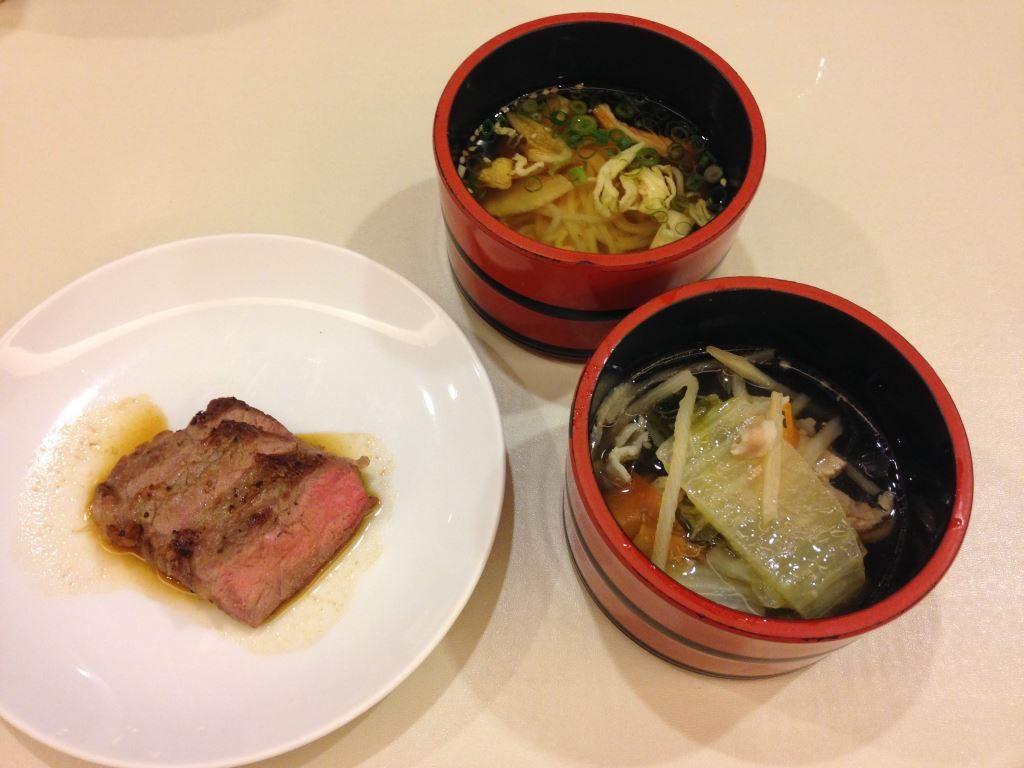 花菱ホテルでの夕食(その2)