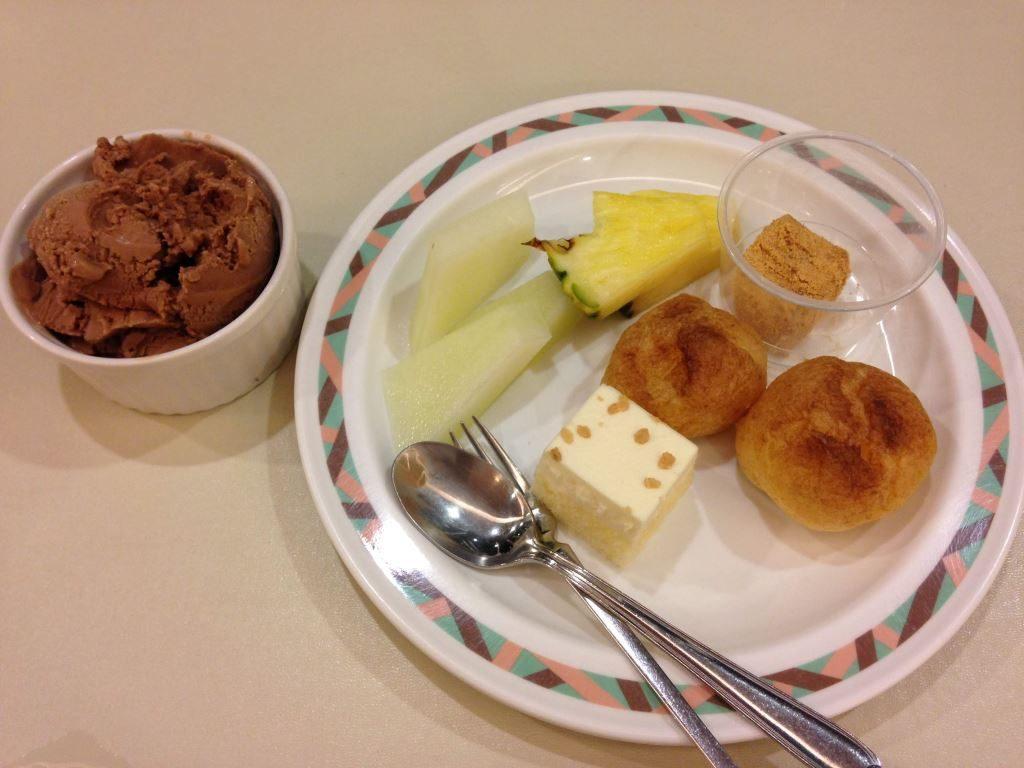 花菱ホテルでの夕食(その3)
