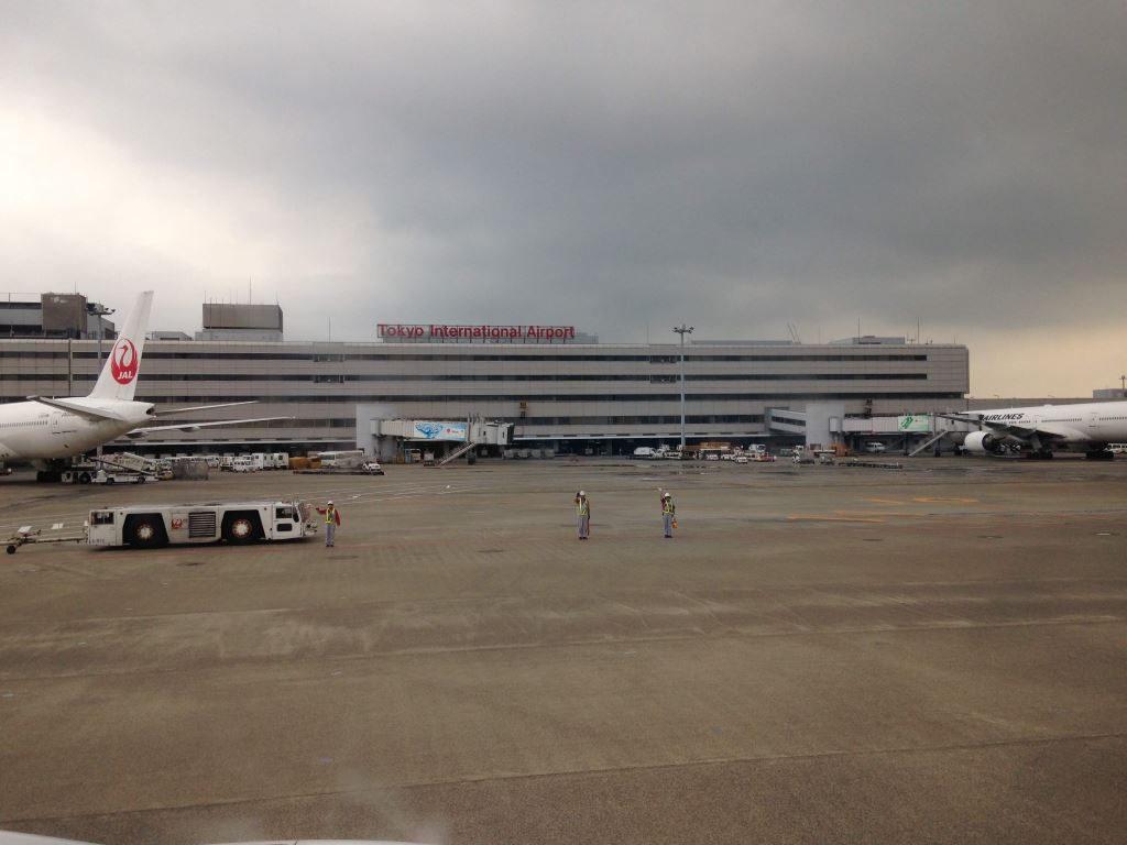 バイバイ羽田空港
