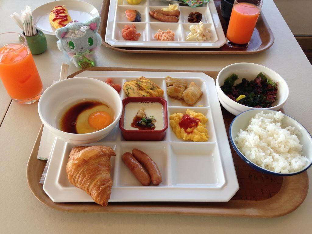 花菱ホテルの朝食